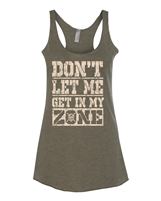 Ft. Wright Cross Fit In My Zone Ladies Racerback Tank NL6733
