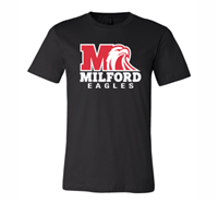 Milford Eagles Unisex T-Shirt (3001CVC/3001Y)