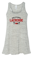 Milford Lacrosse Bella Canvas Ladies Racerback Tank (8800)