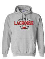 Milford Lacrosse Youth/Adult Hooded Sweatshirt (18500)