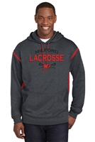 Milford Lacrosse Sport Tek Fleece Hooded Sweatshirt (f246)