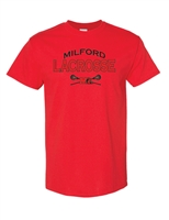 Milford Lacrosse Youth/Men's T-Shirt (5000)