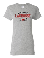 Milford Lacrosse Ladies Junior Fit T-Shirt (5000L)