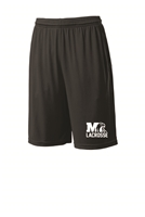 Milford Lacrosse Sport Tek Youth/Adult Shorts (st515,yst510)