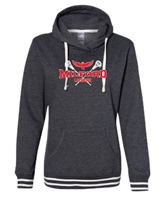 Milford Lacrosse R&W Design Ladies Hooded Sweatshirt (8651)