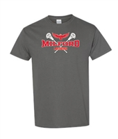 Milford Lacrosse R&W Design Youth/Men's T-Shirt (5000)