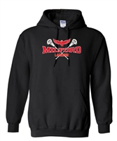 Milford Lacrosse R&W Design Youth/Adult Hooded Sweatshirt (18500)