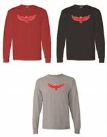 Milford Eagles Long Sleeve T-Shirt (#3-Eagle)