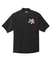 New Richmond Baseball Rawlings Short Sleeve ¼ Zip Pullover (9702)