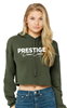 BELLA + CANVAS - Ladies Cropped Fleece Hoodie 7502