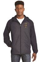 St. Veronica Cross Country Men's Raglan Hooded Jacket (JST40)