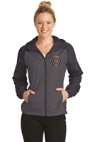 St. Veronica Cross Country Ladies Raglan Hooded Jacket (LST40)