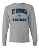 St. Veronica Vikings Youth/Adult LONG SLEEVE Tshirt (Design #3)