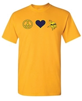 St. Veronica Peace/Love Unisex T-Shirt (#2 NEW)