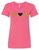 St. Veronica Peace/Love Girls/Ladies T-Shirt (#2 NEW)