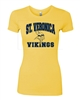 St. Veronica Girls/Ladies Vikings Tshirt (design #3)