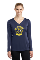 St. Veronica Volleyball Ladies Junior Fit Sport Tek Long Sleeve T-Shirt (LST353LS)