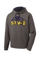 St. Veronica Vikings Basketball Adult/Youth Sport Tek Hoodie (ST235/YST235)