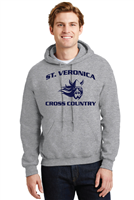 St. Veronica Cross Country Youth/Adult Hooded Sweatshirt (18500)