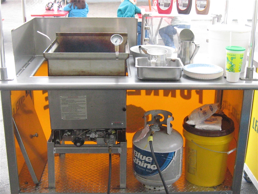Used Gas Funnel Cake Fryer