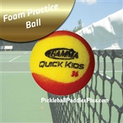 Practice Gamma Quick Kids Foam Ball for Pickleball