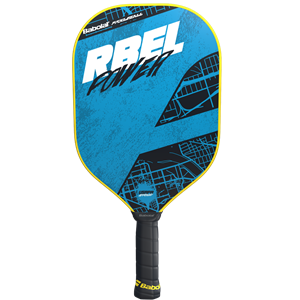 Babolat RBEL Pickleball Paddle, available in Power and Touch options.
