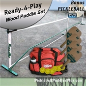 Pickleball Paddles and Net Diller Set
