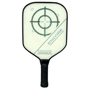 Engage Encore Polymer Composite Paddle for Pickleball, available in shades of blue, pink, purple, or red.