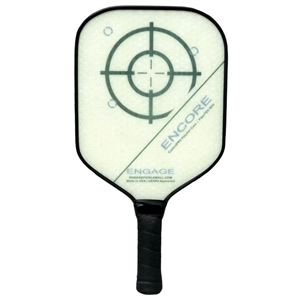 Engage Encore Polymer Composite Paddle for Pickleball, available in shades of blue, green, purple, or red.