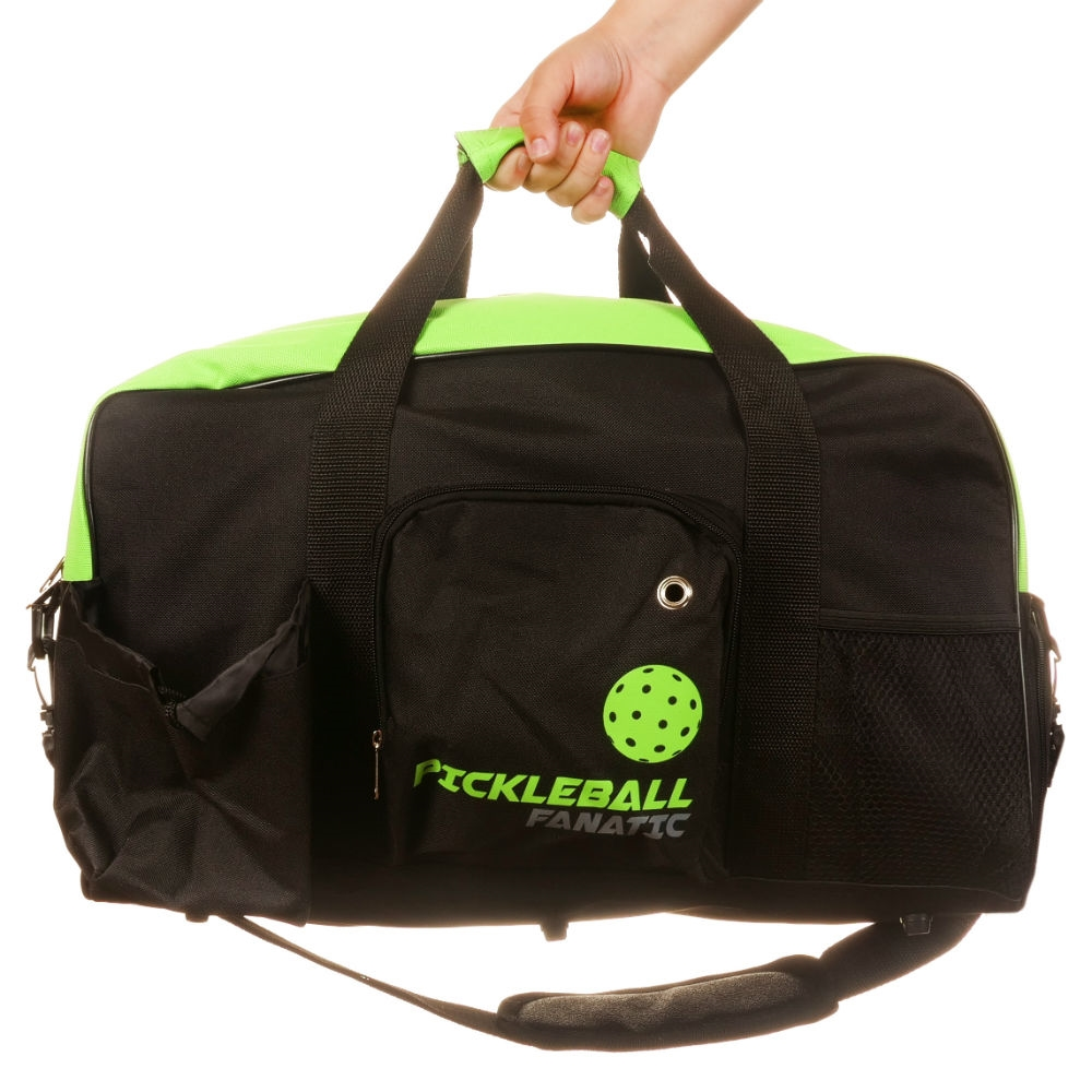 Pickleball Paddle Duffle Bag that reads