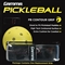 Black Pickleball Paddle PB Contour Grip by Gamma
