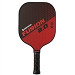 Red and Black Fusion 2.0 Pickleball Paddle by Gamma.