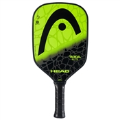 Yellow and Black Radical Elite Composite Pickleball Paddle, polymer core and fiberglass face.