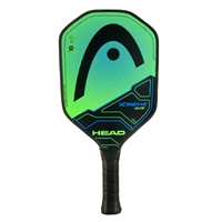 Neon Green and Black Xtreme Elite Composite Paddle, polymer core and fiberglass face.