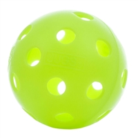Pickleball Balls Jugs Indoor, available in green or white and packages of 6, 12, 72, 200, 600.