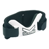 Black and white neoprene Kneed It Pickleball Knee Guard by Gamma.
