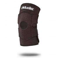 Black Adjustable Mueller Neoprene Knee Support