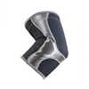 Black and silver HG80 Pickleball Elbow Support Sleeve. One size.