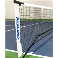 White and Blue Classic PickleNet Replacement Net - fits Classic PickleNet Portable Net System only
