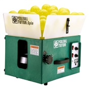 Practice Pickleball Tutor Machine, available in electric or battery powered options. Air pedal or wireless remote options available.