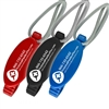 Pickleball Bag Buddy Plus available in black, red, or blue.