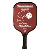 Vintage Champion Graphite Series II for Pickleball available in black, blue, green, or red and thin or cushion grip style options.