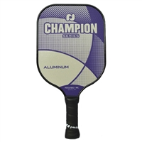 Champion Aluminum Paddle available in Riptide (blue), or Ultra Violet (purple).