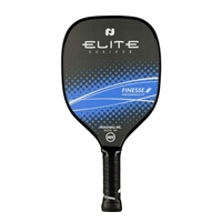 Black and Hot Pink (Magenta) or Blue Elite Finesse II Graphite Paddle.