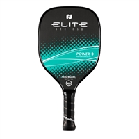 Elite Power II Graphite Paddle, red or teal color options.