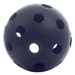 Pickleball Balls Midnight Indoor balls, choose from black, pink, indigo blue or coral. Available in packs of 6, 12 or 72.