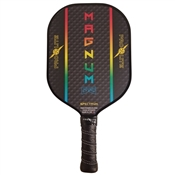 ProLite Magnum Graphite Stealth Paddle for Pickleball, available in pink, blue, green, or yellow.