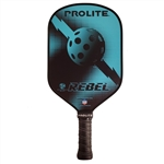 ProLite Rebel PowerSpin Composite Paddle; choose from accent colors of teal, fire or gold.
