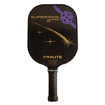 Black ProLite SuperNova Pro Graphite Paddle; choose from accent colors of blue, red, green, or orange.