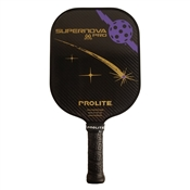 Black ProLite SuperNova Pro Graphite Paddle; choose from accent colors of purple, red and teal.